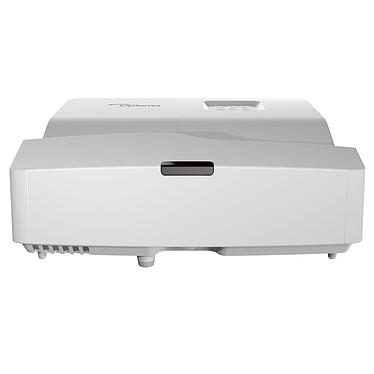 Optoma HD31UST Vidéoprojecteur DLP Full HD 3D Ready 3400 Lumens avec focale ultra-courte, 2 entrées HDMI, Ethernet et haut-parleur intégré