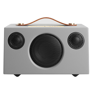 Audio Pro Addon C3 Gris Enceinte portable sans fil multiroom avec Wi-Fi, Bluetooth, AirPlay et Spotify Connect