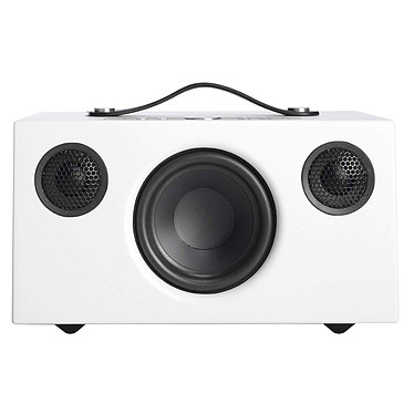 Audio Pro Addon C5 Blanc Enceinte sans fil multiroom avec Wi-Fi, Bluetooth, AirPlay, Spotify Connect et USB