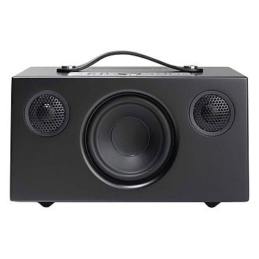 Audio Pro Addon C5A Noir Enceinte sans fil multiroom avec Wi-Fi, Bluetooth, AirPlay, Spotify Connect, USB et compatibilité Alexa
