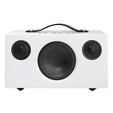 Audio Pro Addon C5A Blanc Enceinte sans fil multiroom avec Wi-Fi, Bluetooth, AirPlay, Spotify Connect, USB et compatibilité Alexa