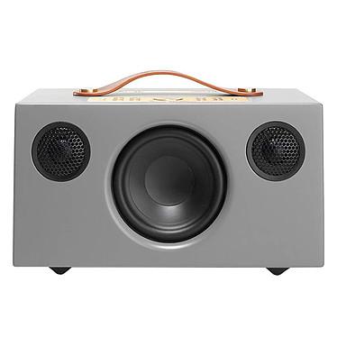 Audio Pro Addon C5A Gris Enceinte sans fil multiroom avec Wi-Fi, Bluetooth, AirPlay, Spotify Connect, USB et compatibilité Alexa