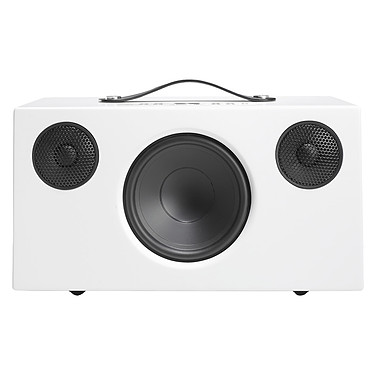 Audio Pro Addon C10 Blanc Enceinte sans fil multiroom avec Wi-Fi, Bluetooth, AirPlay, Spotify Connect et USB