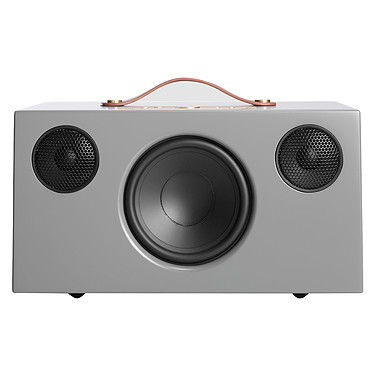 Audio Pro Addon C10 Gris Enceinte sans fil multiroom avec Wi-Fi, Bluetooth, AirPlay, Spotify Connect et USB