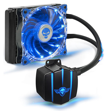 Spirit of Gamer LiquidForce 120 Kit de Watercooling tout-en-un pour processeur (Intel LGA 2011-V3/2011/1155/1151/1150 et AMD AM4/AM3+/AM3/FM2+/FM2/FM1
