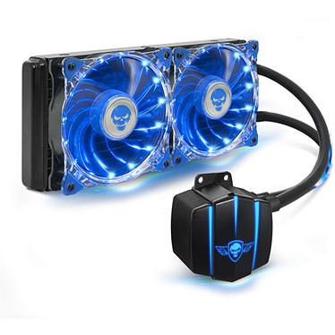 Spirit of Gamer LiquidForce 240 Kit de Watercooling tout-en-un pour processeur (Intel LGA 2011-V3/2011/1155/1151/1150 et AMD AM4/AM3+/AM3/FM2+/FM2/FM1