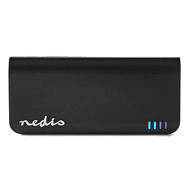 Nedis Portable PowerBank (4 000 mAh) Batterie / chargeur externe autonome (power bank) - capacité 4000 mAh - indicateur de charge LED - 1 port USB-A - compatible smartphone, tablette, console de jeux...