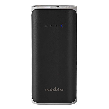 Nedis Portable PowerBank (5 000 mAh) Batterie / chargeur externe autonome (power bank) - capacité 5000 mAh - indicateur de charge LED - 1 port USB-A - compatible smartphone, tablette, console de jeux...