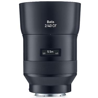 ZEISS Batis 40mm f/2 CF Objectif grand angle tropicalisé 40mm f/2 compatible plein format avec écran OLED pour monture Sony E