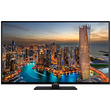 "Hitachi 55HK6000 Noir Téléviseur LED 4K 55"" (140 cm) 16/9 - 3840 x 2160 pixels - HDR - Ultra HD - Wi-Fi - Bluetooth - 1200 Hz"