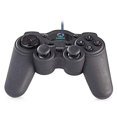 Nedis CWOCK Manette de jeu filaire avec vibrations (compatible périphériques USB)