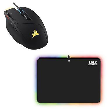 Corsair Gaming Sabre RGB + LDLC RGB PAD