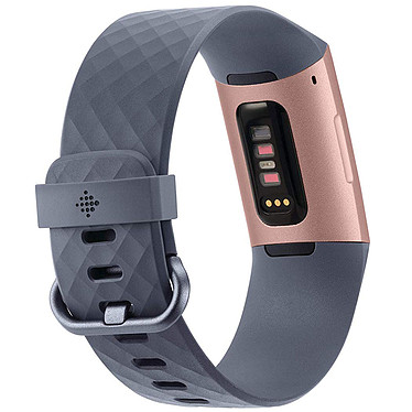 Acheter FitBit Charge 3 Or Rose / Bleu Ardoise