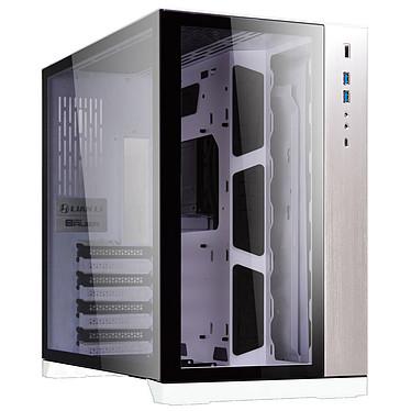 Lian Li PC-O11DW Caja de aluminio de media vuelta y cristal templado con USB 3.1 Tipo C (color blanco)