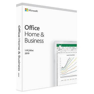 Microsoft Office Famille et Petite Entreprise 2019 Licence 1 utilisateur pour 1 PC ou Mac (carte d'activation)