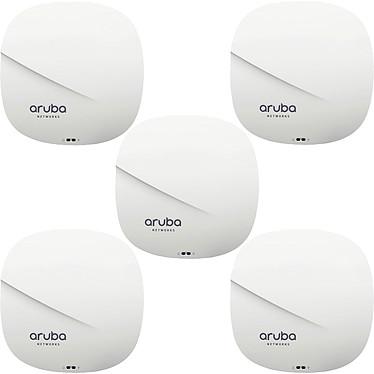 Aruba Instant IAP-315 RW x5 5 Points d'accès autonomes Wi-Fi AC1733 (AC1733+N400) Dual-Band 4x4:4 MU-MIMO PoE