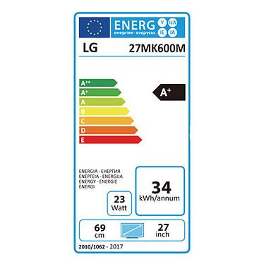 """LG 27"""" LED 27MK600M-B pas cher"""
