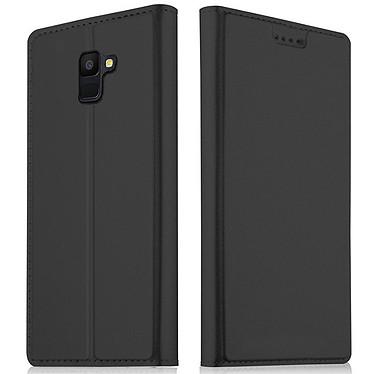 Akashi Etui Folio Porte Carte Noir Galaxy A6 2018 · Occasion Etui folio avec porte carte pour Samsung Galaxy A6 2018 - Article utilisé, garantie 6 mois