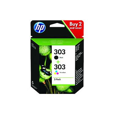 HP 303 Pack de 2 Noir/3 Couleurs (3YM92AE)