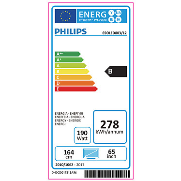 Philips 65OLED803 pas cher
