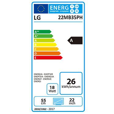 """LG 21.5"""" LED - 22MB35PH-B pas cher"""