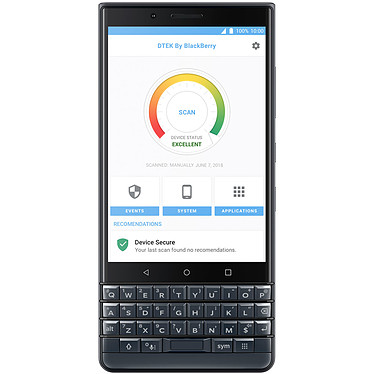 Acheter BlackBerry KEY2 Lite Edition Gris Ardoise
