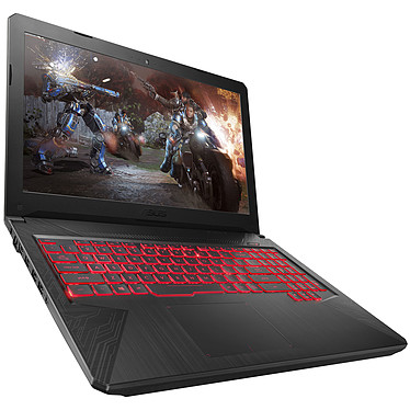 "ASUS TUF504GD-DM913T Intel Core i5-8300H 8 Go HDD 1 To 15.6"" LED Full HD NVIDIA GeForce GTX 1050 2 Go Wi-Fi AC/Bluetooth Webcam Windows 10 Famille 64 bits (garantie constructeur 2 ans)"