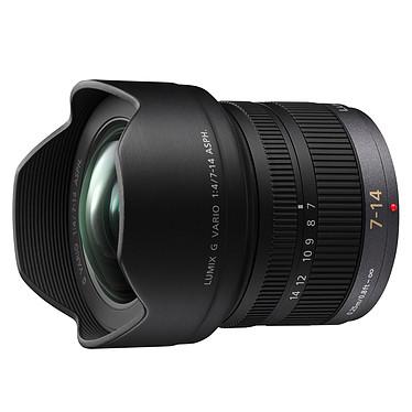 Panasonic Lumix H-F007014E Objectif zoom grand-angle 7-14mm f/4.0 Micro 4/3