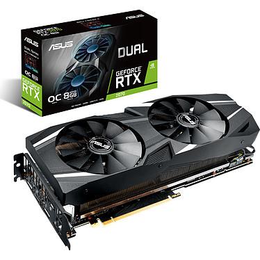 ASUS GeForce RTX 2070 - DUAL-RTX2070-O8G 8 Go GDDR6 - HDMI/Tri DisplayPort/USB Type-C - PCI Express (NVIDIA GeForce RTX 2070)