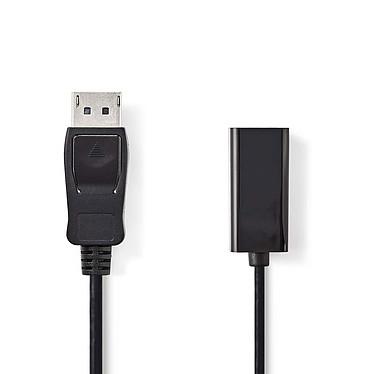 Nedis Câble Displayport mâle vers HDMI femelle (20 cm) Câble DisplayPort vers HDMI (Mâle/Femelle)