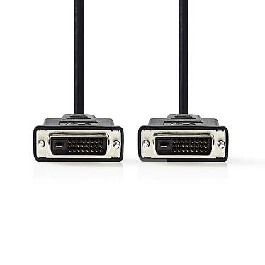 Nedis Câble DVI-D (2 mètres) Câble DVI-D Dual Link (Mâle/Mâle) - 2 mètres
