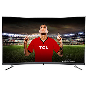 "TCL 55DP676 Téléviseur incurvé LED 4K Ultra HD 55"" (140 cm) 16/9 - 3840 x 2160 pixels - HDR - Ultra HD - Wi-Fi - DLNA - 1500 Hz"
