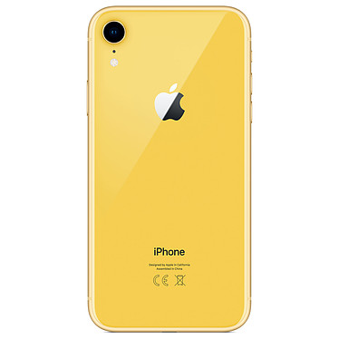 Avis Apple iPhone XR 64 Go Jaune