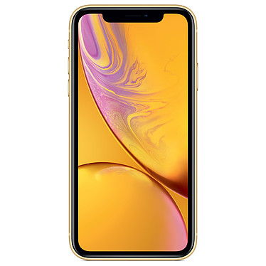 "Apple iPhone XR 128 Go Jaune Smartphone 4G-LTE Advanced IP67 Dual SIM - Apple A12 Bionic Hexa-Core - RAM 3 Go - Ecran 6.1"" 828 x 1792 - 128 Go - NFC/Bluetooth 5.0 - iOS 12"