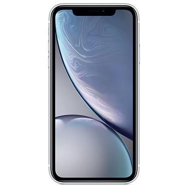 "Apple iPhone XR 256 Go Blanc Smartphone 4G-LTE Advanced IP67 Dual SIM - Apple A12 Bionic Hexa-Core - RAM 3 Go - Ecran 6.1"" 828 x 1792 - 256 Go - NFC/Bluetooth 5.0 - iOS 12"