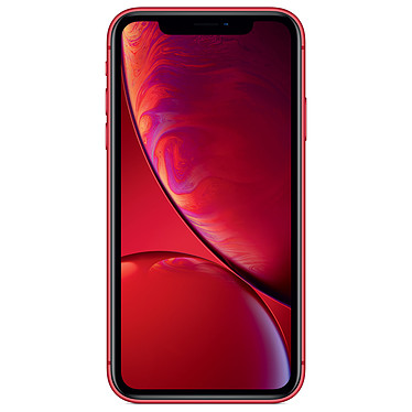 "Apple iPhone XR 256 Go (PRODUCT)RED Smartphone 4G-LTE Advanced IP67 Dual SIM - Apple A12 Bionic Hexa-Core - RAM 3 Go - Ecran 6.1"" 828 x 1792 - 256 Go - NFC/Bluetooth 5.0 - iOS 12"