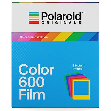 Polaroid Color 600 Film (cadres colorés) 8 films instantanés couleur avec cadre coloré pour appareil photo Polaroid 600 et i-Type