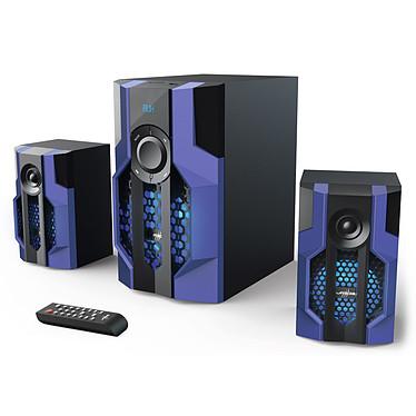 uRage SoundZ 2.1 Evolution Kit d'enceintes 2.1 avec Bluetooth (80W RMS)