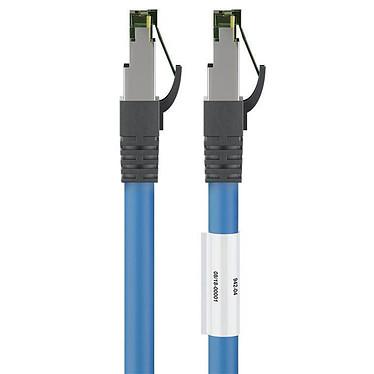 Avis Goobay Câble RJ45 Cat 8.1 S/FTP 15 m (Bleu)