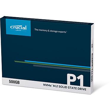 Avis Crucial P1 M.2 PCIe NVMe 500 Go