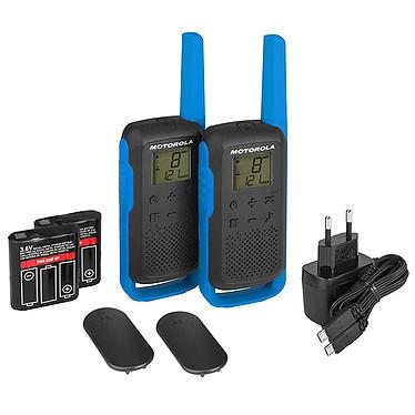 Motorola TALKABOUT T62 Twin Pack Pack de 2 Talkies-Walkies portée 8 km