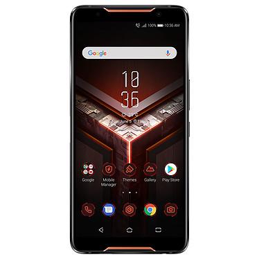"ASUS ROG Phone ZS600KL Noir Smartphone 4G-LTE Advanced Dual SIM - Snapdragon 845 8-Core 2.96 GHz - RAM 8 Go - Ecran tactile AMOLED 6"" 1080 x 2160 - 128 Go - Bluetooth 5.0 - 4000 mAh - Android 8.1"