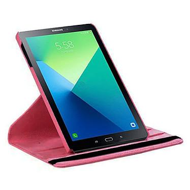 "Akashi Etui Folio Galaxy Tab A 10.5"" Rose pas cher"