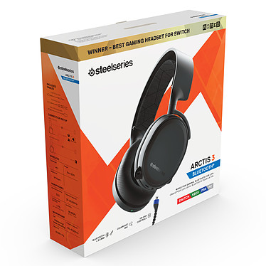 Avis SteelSeries Arctis 3 Bluetooth 2019 (noir)