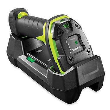 Zebra Kit LI3678-SR Lecteur de codes barres 1D longue portée (5,1 cm à 17,1 m) sans fil ultra-robuste avec station de charge et câbles