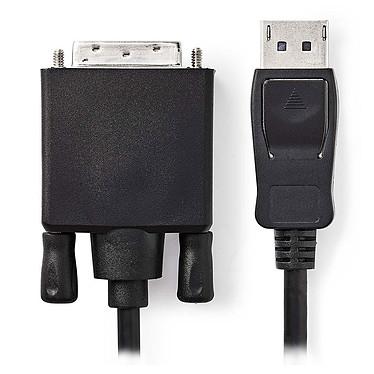 Nedis Câble DisplayPort mâle vers DVI-D mâle (2 m)