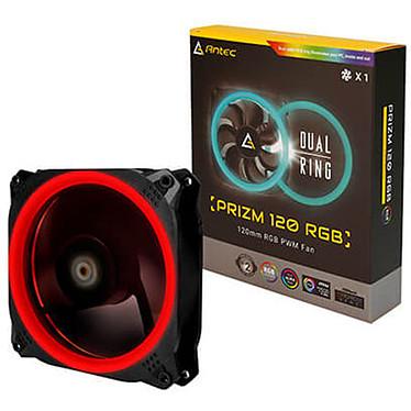 Antec Prizm 120 RGB Ventilateur de boîtier PWM 120 mm avec LED RGB