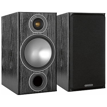 Monitor Audio Bronze 2 Noir Enceinte bibliothèque 100W (par paire)