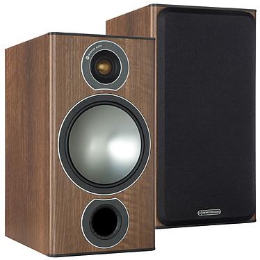 Monitor Audio Bronze 2 Noyer Enceinte bibliothèque 100W (par paire)