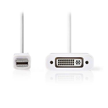 Nedis Cordón Mini DisplayPort Macho a DVI-D Hembra Cable hembra de Mini DisplayPort a DVI-D con 24 + 1 clavijas - 0,2 metros